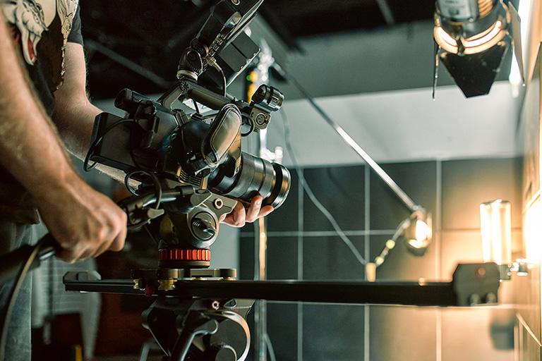 Coulisses d'un tournage vidéo